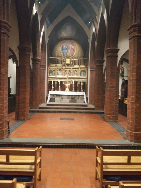 High Altar without Frontal