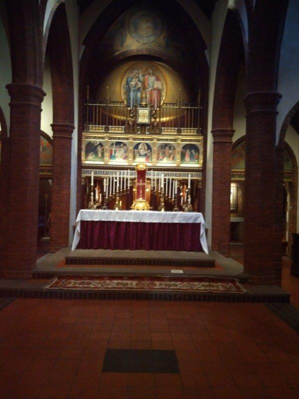 High Altar in Lent